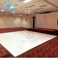 Portable Outdoor Wedding Party Event White Wood Dance Floor For Sale