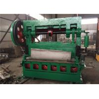 China 1.5m Width Expanded Metal Machine 4500KG For Stainless Steel Expanded Mesh on sale