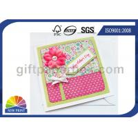 China Professional Mothers' Day Greeting Cards Printing Service / Festival Greeting Cards Printing on sale