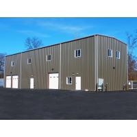 China Hot Dip Galvanized Warehouse Steel Structure Pre Built Steel Buildings Waterproof on sale