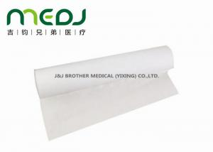 China 18W X 225 Ft Disposable Bed Sheet Roll Eco - Friendly With Poly - Wrapped on sale