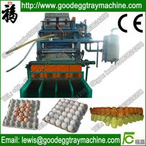 China Automatic Paper egg tray injection molding machinery on sale