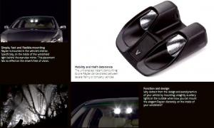 Quality Visualeyes Rayzer in-car HID lights illuminate road for sale