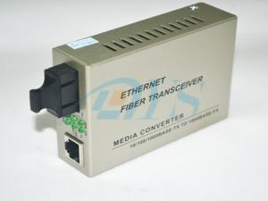 China Singlemode Fiber Optic Media Converter Duplex SC High-speed on sale