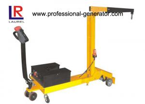 China 12 / 24V Electric Mini Swivel Full Electric Counterbalance Floor Crane Foldable CE on sale