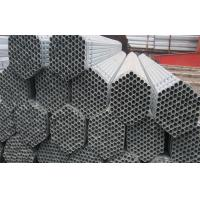 ERW Hot-dip Galvanized Steel Pipe , Water Pipe Used For Structure
