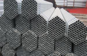China Tuyau d'acier galvanisé à chaud d'ERW, conduite d'eau utilisée pour la structure on sale