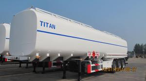 China tri-axle oil transport tanker trailers with tanker trailer for petroleum products for sale on sale
