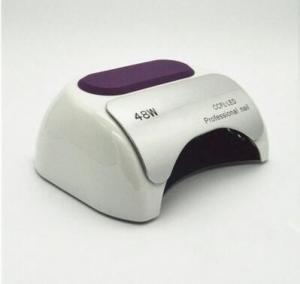 China Nail polish Gel Art Tools Professional CCFL 48W LED UV Lamp Light 110-220V Nail Dryer Automatic Induction 10s 20s 30s Ti on sale