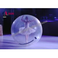 Water Bubble Ball Inflatable Ball Game 7 Foot Clear Mini Zorb Ball OEM