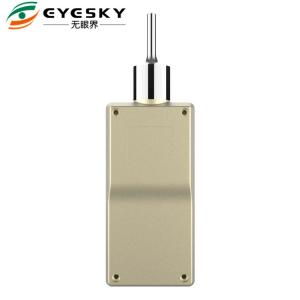 China Pump Suction Gas Leak Detector 3% FS Accuracy LCD Backlight With Metal Shell on sale