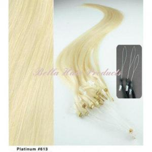 China Hair Extension Micro Ring 100% Human Hair on sale