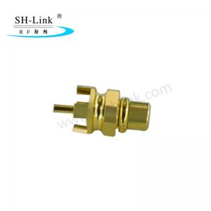 China RF coaxial MMCX male connector, PCB connector on sale