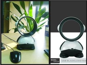 China Bladeless Portable Electric Fan on sale