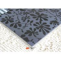 Fireproof Plain / Melamine Faced Flowers 3D MDF Board Melamine Faced Boards