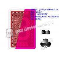 XF Rocket Plastic Playing Cards Marked With Invisible Ink To Work With Poker Readers And Invisible Lenses