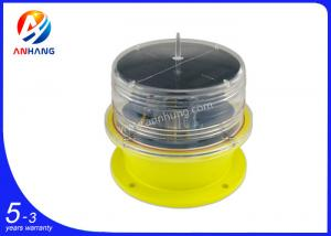 China AH-LS/L Solar powered obstruction LED light/solar aircraft warning light for mono pole on sale