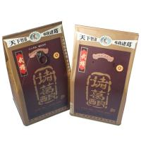 Health Food Grade Tin Containers , Wine Storage Tin Geometry Box