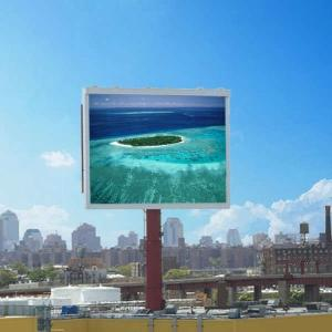 China P12 Outdoor RGB Led Billboard Display Waterproof IP65 , Electronic Billboard Signs on sale