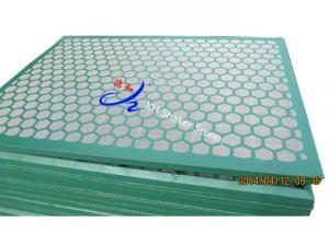 China Brandt VSM shaker screens desander screens desilter screens and mud cleaner Steel Frame Shaker Screen on sale