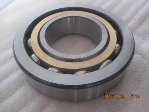 China Steel ABEC9 40mm Metric Ball Bearing Angular Contact For Drilling Rigs 7208B on sale