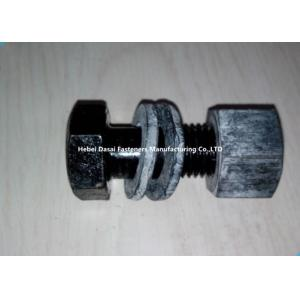 China Phosphating Finish High Strength Structural Bolts M12 Size For Steel Structure on sale