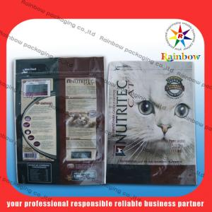 China Recyclable Stand Up Cat Food Bag Personalized PET / VMPET / PE on sale