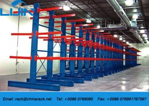 China Long Arms Flexible Industrial Storage Rack Heavy Duty 1000-2500kg / Arm on sale