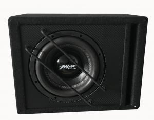 China 8 Inch Powered Car Subwoofer , RMS 280W Professional Audio Speakers on sale
