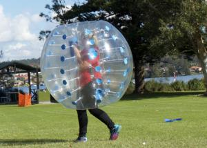 China 1.2m Diameter TPU / PVC Bubble Football , Outdoor Inflatable Toys 0.8mm Bubble Soccer on sale