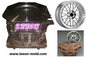China Wheel Rims Low pressure die casting mould on sale