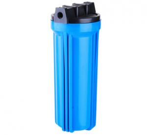 China 8.8 Kg / Cm 2 10 Inch Clear Water Filter Housing RO Water Filter Parts For Family on sale