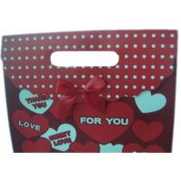 Custom Made Personalized Christmas Wrapping Paper Gift Bags With CYMK Color