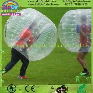 China Guangzhou QinDa Inflatable bubble soccer ball inflatable bumper ball on sale