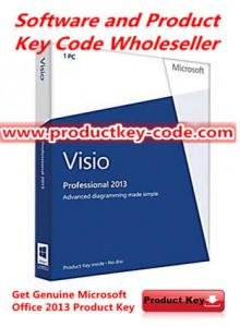 China Microsoft Office Product Key Codes For Microsoft Office visio 2013 Professional, PC Download on sale