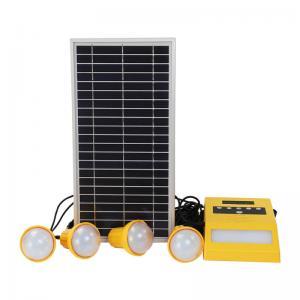 China 4pcs 2W Solar Home Lighting Kit , 5H Solar Led Home Lighting System on sale