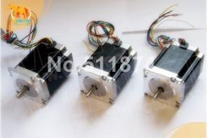 Quality Wantai 3 PCS Nema 23 Stepper Motor 57BYGH603 1.0A 287oz-in 78mm for sale