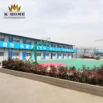 Color Steel Plate Portable Accommodation With Kitchen Dining Hall Warehouse And Toilet