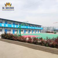 China Prefabricated Labour Colony Steel Frame Prefab House With Kitchen Dining Hall on sale