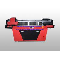 China Industrial UV Glass / Wood Printing Machine With Double Print Head on sale