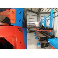 Powder Coated Cantilever Storage Racks , Warehouse Pallet Racking Corrosion Protection
