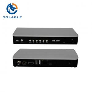 China HD QAM STB Digital Cable Set Top Box , Satellite Tv Receiver Decoder For Home Hospital on sale