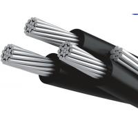 China Long Life Al Aerial Bundle Conductor , Aluminum Aerial Cable XLPE Insulated on sale