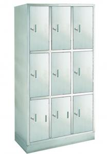 China 9 Door Hospital Stainless Steel Instrument Cabinet , Medical Cupboard on sale