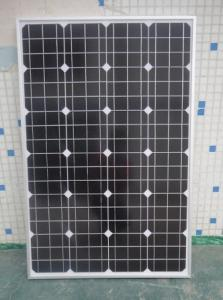 China 135 Watt Monocrystalline Silicon Solar Cells Industrial Withstands High Wind Pressure on sale