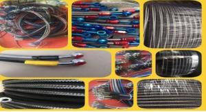 China flexible heat resistant hose engine oil cooler Steel braided hose hydraulic hose and fitting on sale