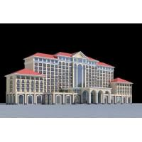 China Real Estate Sculpture 3D Model Miniature Architectural Model Maker Hotel Buildings on sale