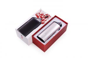 China Black Widow Dry Herb Wax Vaporizer 2200mAh Battery With Black Silver Color on sale