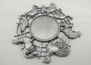 China Nickel 3d Carnival Medas Zinc Alloy With Animal And Inner Cut Hole on sale
