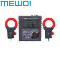 China MEWOI4200-0.01Ω~30.00KΩ AC600A Double Clamp Earth Ground Resistance Tester/Detector on sale